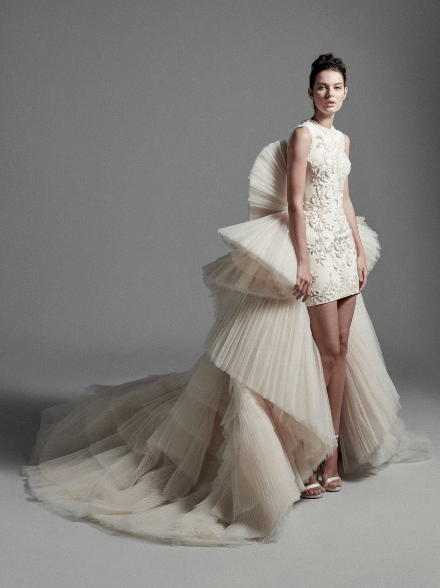 Look08 Inspirated By VI Krikor Jabotian Bridal Couture