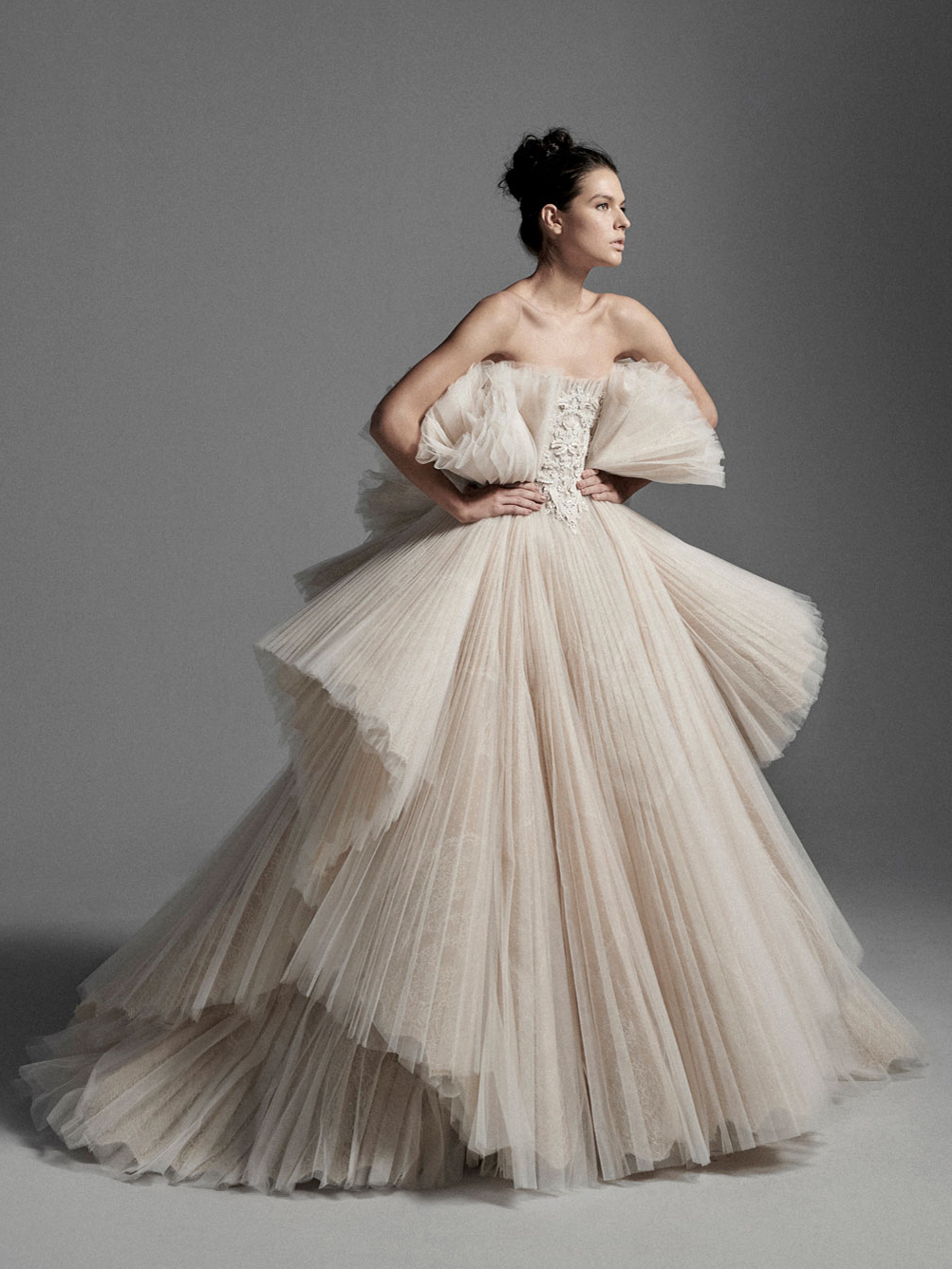 Look04 Inspirated By VI Krikor Jabotian Bridal Couture