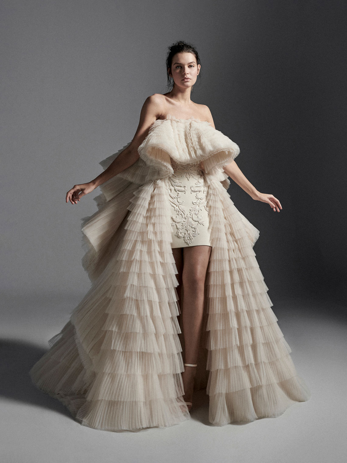 Look01 Inspirated By VI Krikor Jabotian Bridal Couture