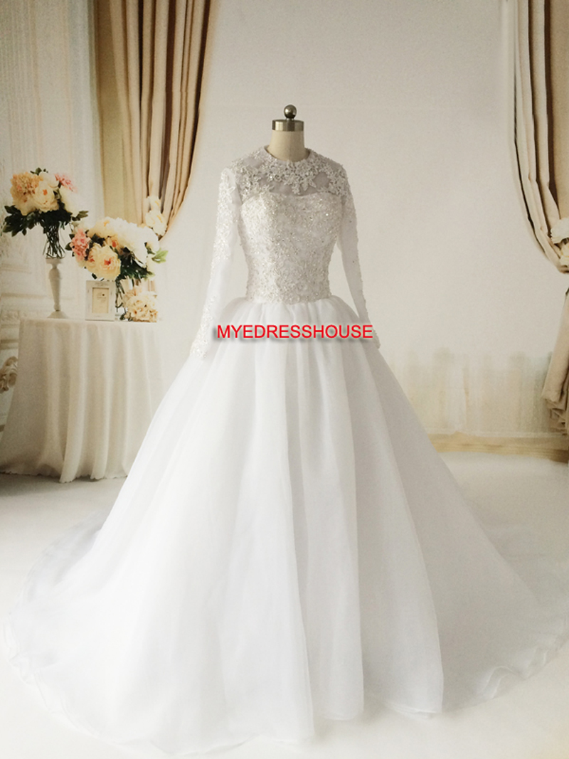 Ere Myedresshouse Haute Couture Sweetheart Neck Lace  Bridal Dress