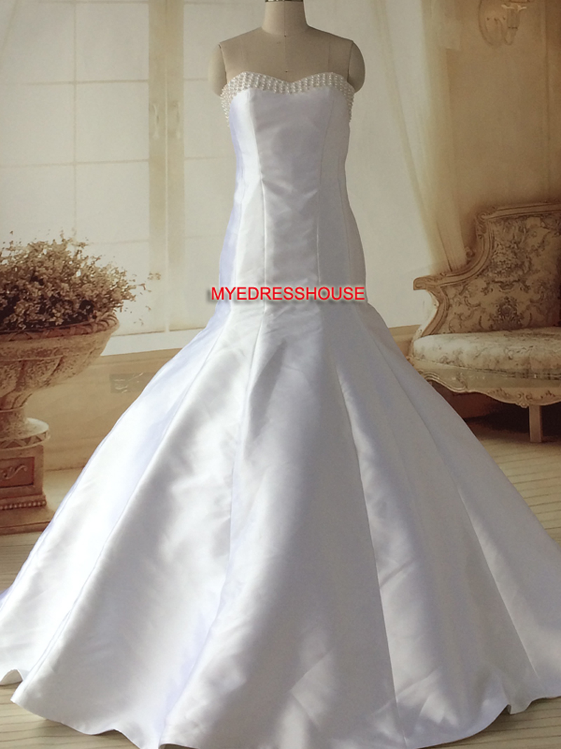 Bal Myedresshouse Haute Couture Sweetheart Neck Lace  Bridal Dress
