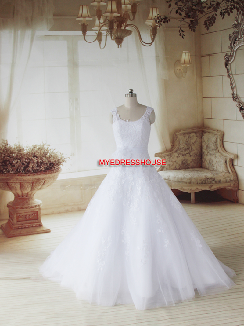 Biar Myedresshouse Haute Couture Sweetheart Neck Lace  Bridal Dress
